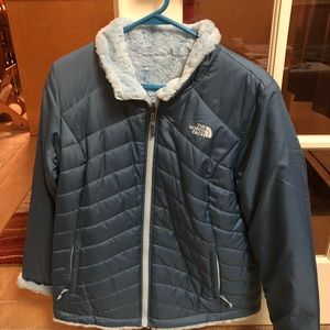 North Face furry lined jacket